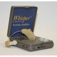 Whisper Rechargeable BTE Hearing Amplifier