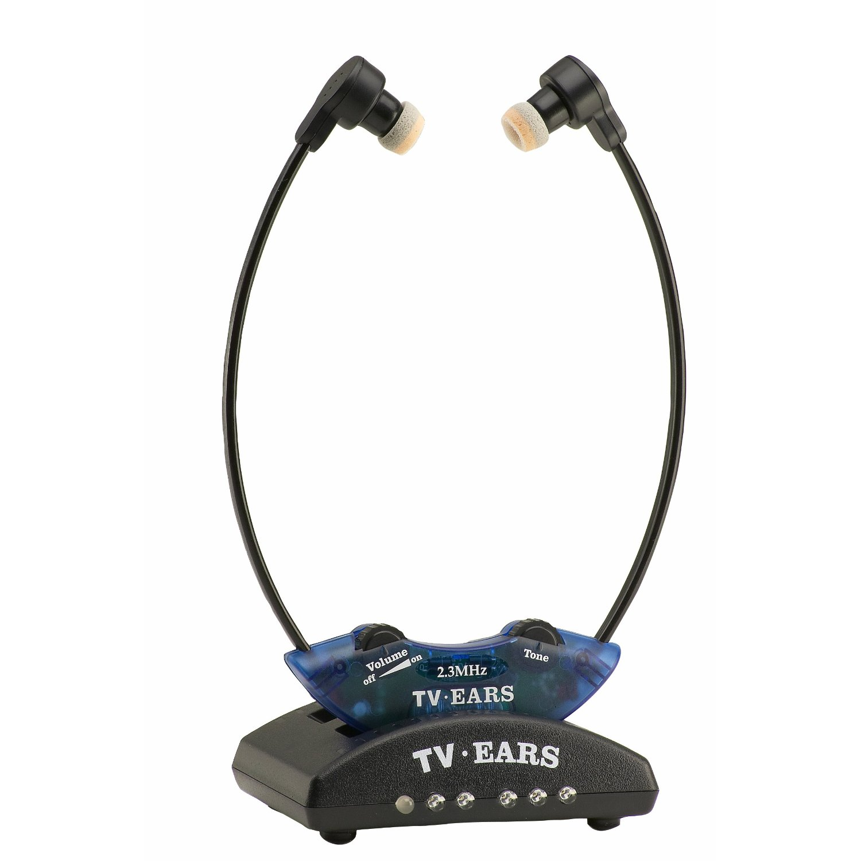 TV Ears 10341 2.3 System Wireless Headset System (Blue)